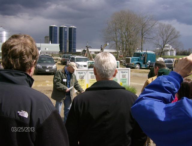 Rainfall simulator demo