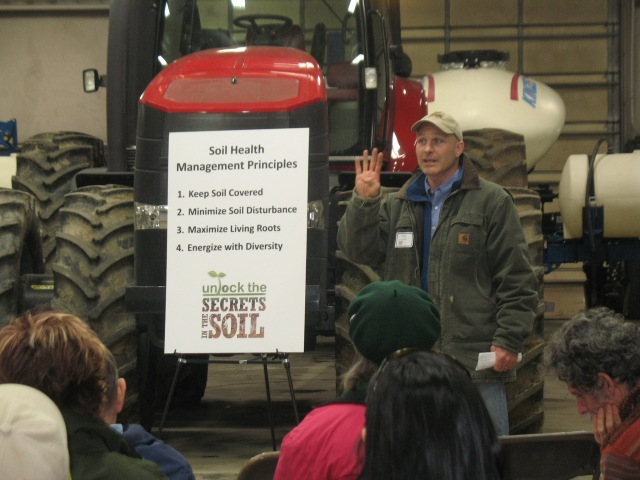 four basic principles are the keys to building soil health