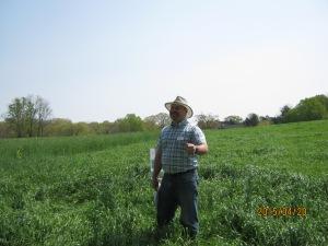 NRCS Forage Agronomist J.B. Daniel